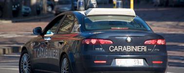 Carabinieri auto bella dietro