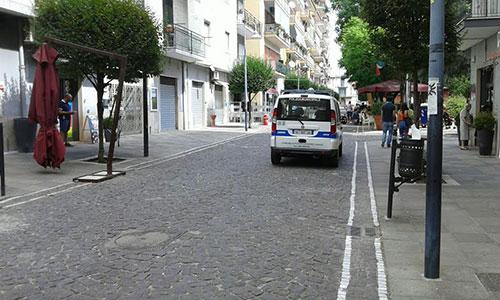 Morto_Pontecagnano_Polizia_Municipale_Corso