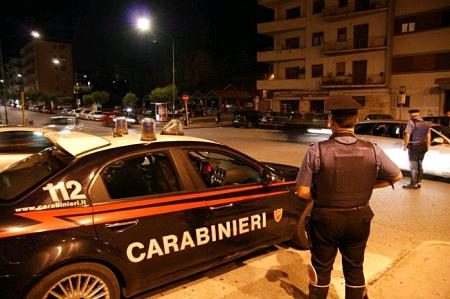 carabinieri lite stranieri