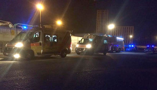 Salerno: folgorato straniero nell'impianto Enel vicino la Lungoirno