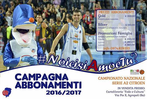Basket_Agropoli_Abbonamenti