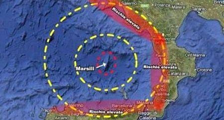 Il super vulcano Marsili è attivo: rischio tsnunami in Campania e Calabria