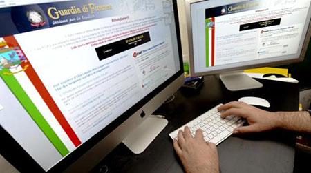 Blitz della Guardia di Finanza, il 57% aziende usa software pirata