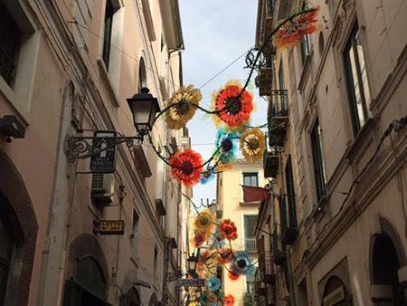 Luci d'artista, arriva la ruota panoramica sul lungomare di Salerno