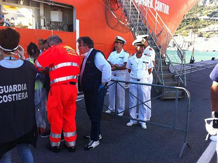 Migranti, previsto un nuovo sbarco a Salerno