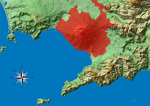 Piano Vesuvio: se erutta vulcano evacuate 700mila persone in 72 ore