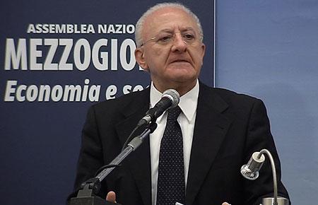 Assemblea del Mezzogiorno, De Luca: