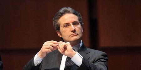 06/04/2011 Roma, presentazione del V° Rapporto Generale Classe Dirigente, nella foto Stefano Caldoro, presidente regione Campania