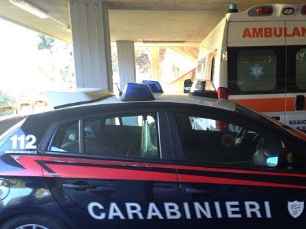 carabinieri-ambulanza-ospedale
