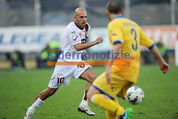 Salernitana-Frosinone 1-3, Marino: