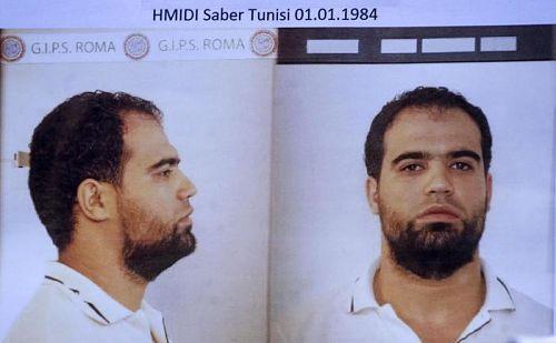 terrorista Saber Hmidi