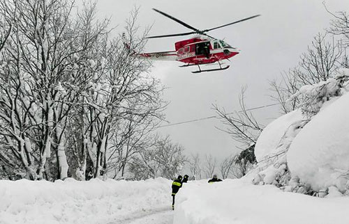 Valanga hotel Rigopiano, altri 20 soccorritori pronti a partire dal Veneto