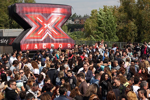 X Factor On The Road fa tappa a Pesaro