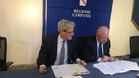 Patto per la Campania: 4 miliardi attivati