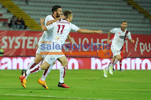 Perugia-Salernitana (3-2): highlights e gol della partita (Serie B 2016-2017, 42^ giornata)