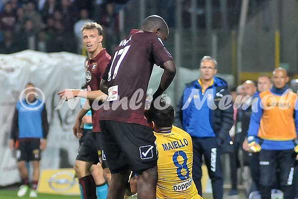 Serie B - Il Frosinone espugna l'Arechi: battuta la Salernitana 1-3