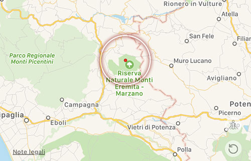 Terremoto nel salernitano: scossa di magnitudo 2.3 con epicentro a Laviano