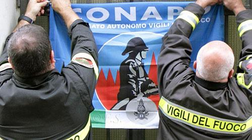Vigili del fuoco, il Conapo in Prefettura: