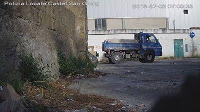 Abbandono di rifiuti a Castel San Giorgio: incastrati dalle ...