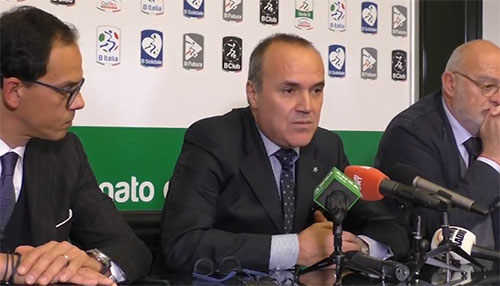 """Assemblea di Lega, Balata: """"Serie B a 18 squadre, stop ripescaggi"""""""