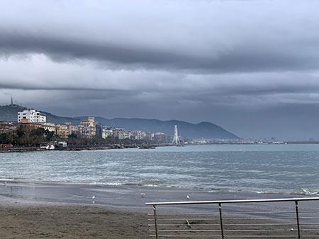 Campania: da stanotte allerta meteo, drastico calo delle temperature