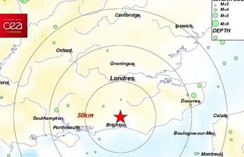 Terremoto a Londra: trema l'aeroporto di Gatwick