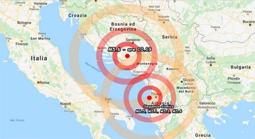 Terremoto a Creta, scossa in mare di magnitudo 6