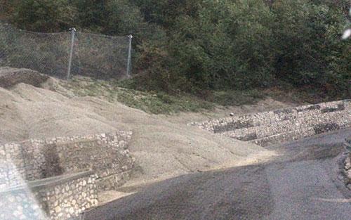 Nuovo smottamento sul cantiere della Ravello-Tramonti - Salernonotizie.it