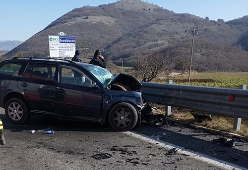 Incidente sulla Bussentina, resta in prognosi riservata il 63enne di San Giovanni a Piro.