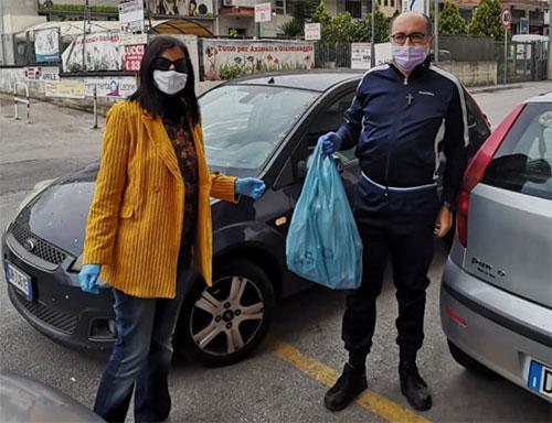 Galahad Salerno dona mascherine alla Caritas di Matierno-Pastorano ...