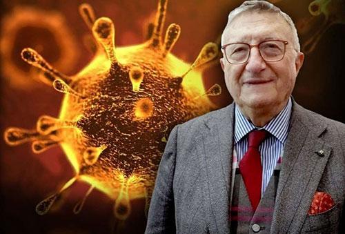 "Virologo Tarro placa allarmismi: ""Virus debole, mascherine all'aperto inutili"""