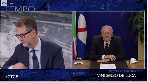 Juventus-Napoli, nuove frecciate di De Luca: