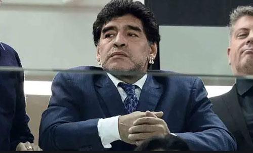 Spunta un audio di Maradona al fidanzato dell'ex compagna